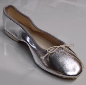 Queen Size Exclusive Ladies Footwear, Classic Pumps, Silver, Winter Collection.