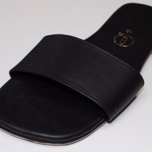 Queen Size Exclusive Ladies Footwear, Flat Mule Sandal, Summer Collection.