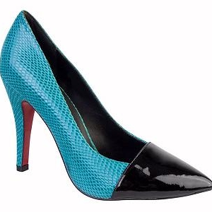 Queen Size Exclusive Ladies Footwear, Opal High Heel shoe.