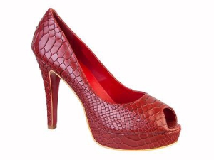Queen Size Exclusive Ladies Footwear, Ruby peep-toe heel, New Range.