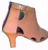 Queen Size Exclusive Ladies Footwear, Zip-up Peep-toe heel, Pink, Sale.