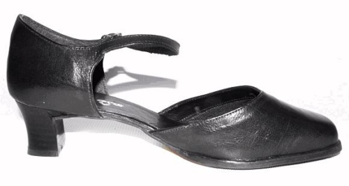 Queen Size Exclusive Ladies Footwear, Elegant closed-toe and heel with ankle strap shoe, Sale page.