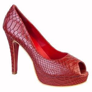 Queen Size Exclusive Ladies Footwear, Ruby peep-toe heel, New Range.